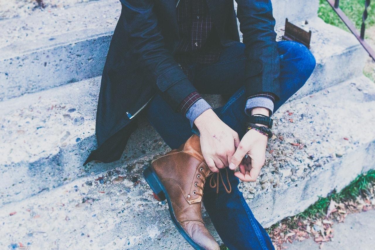 jean coupe droite à porter