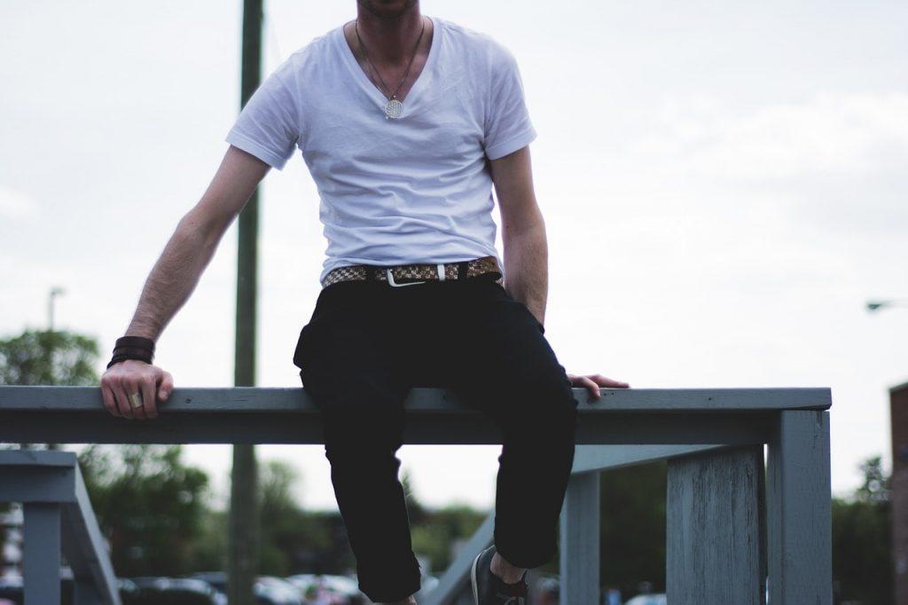 ceinture décontractée homme