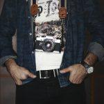 jean porté par un maigre