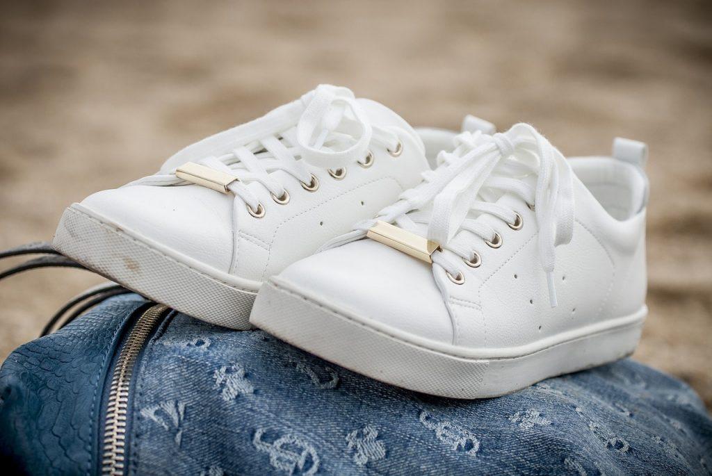 lacet blanc basket